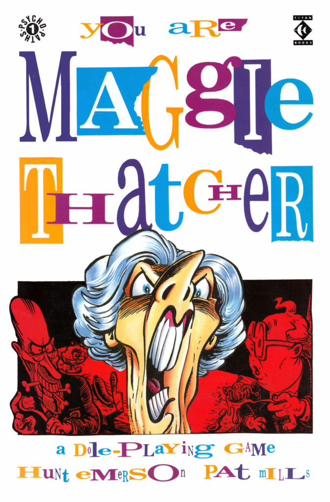 You Are Maggie Thatcher Cover